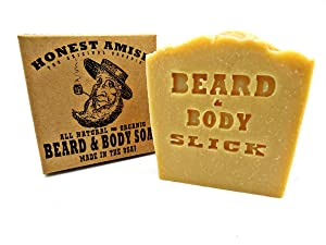 Honest Amish Beard & Body Soap (Slick)