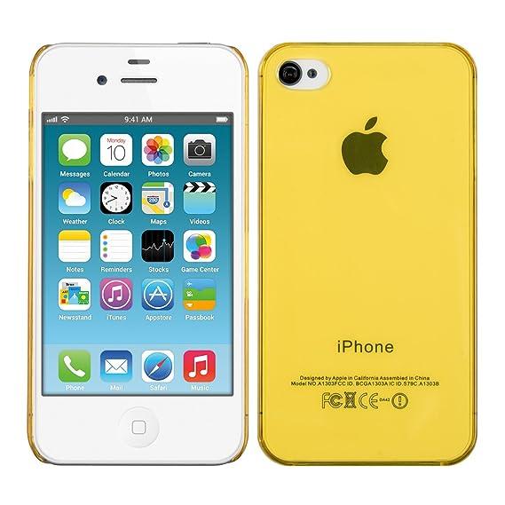 Amazon.com: kwmobile Apple iPhone 4 / 4S Case - Ultra Slim ...