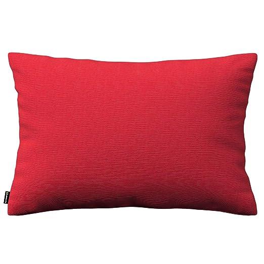 Dekoria Kinga cojín, 60 x 40 cm, 60 x 40 cm, Color Rojo ...