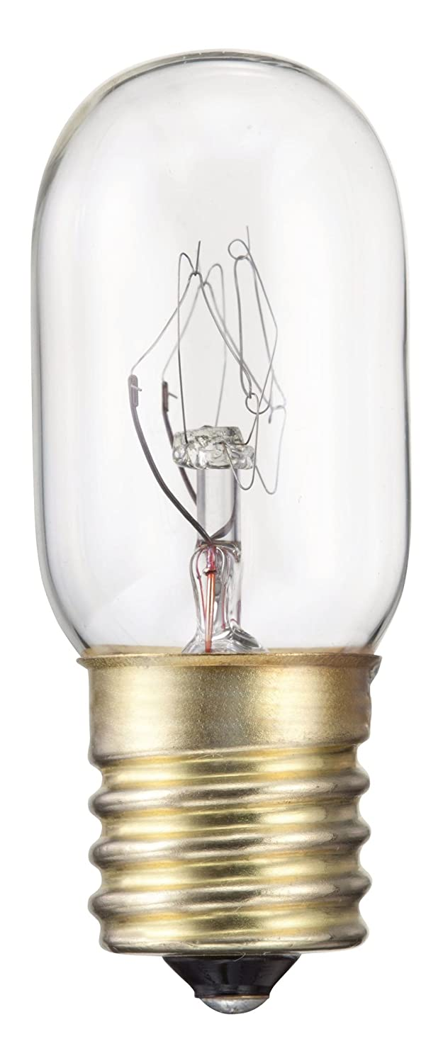 Philips Appliance Clear T7 Light Bulb: 2800-Kelvin, 15-Watt, Intermediate Base