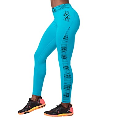 68bc9b16d7db9 Image Unavailable. Image not available for. Color: STRONG by Zumba Women's  High Waisted Shaping Athletic Performance Ankle Workout Leggings ...