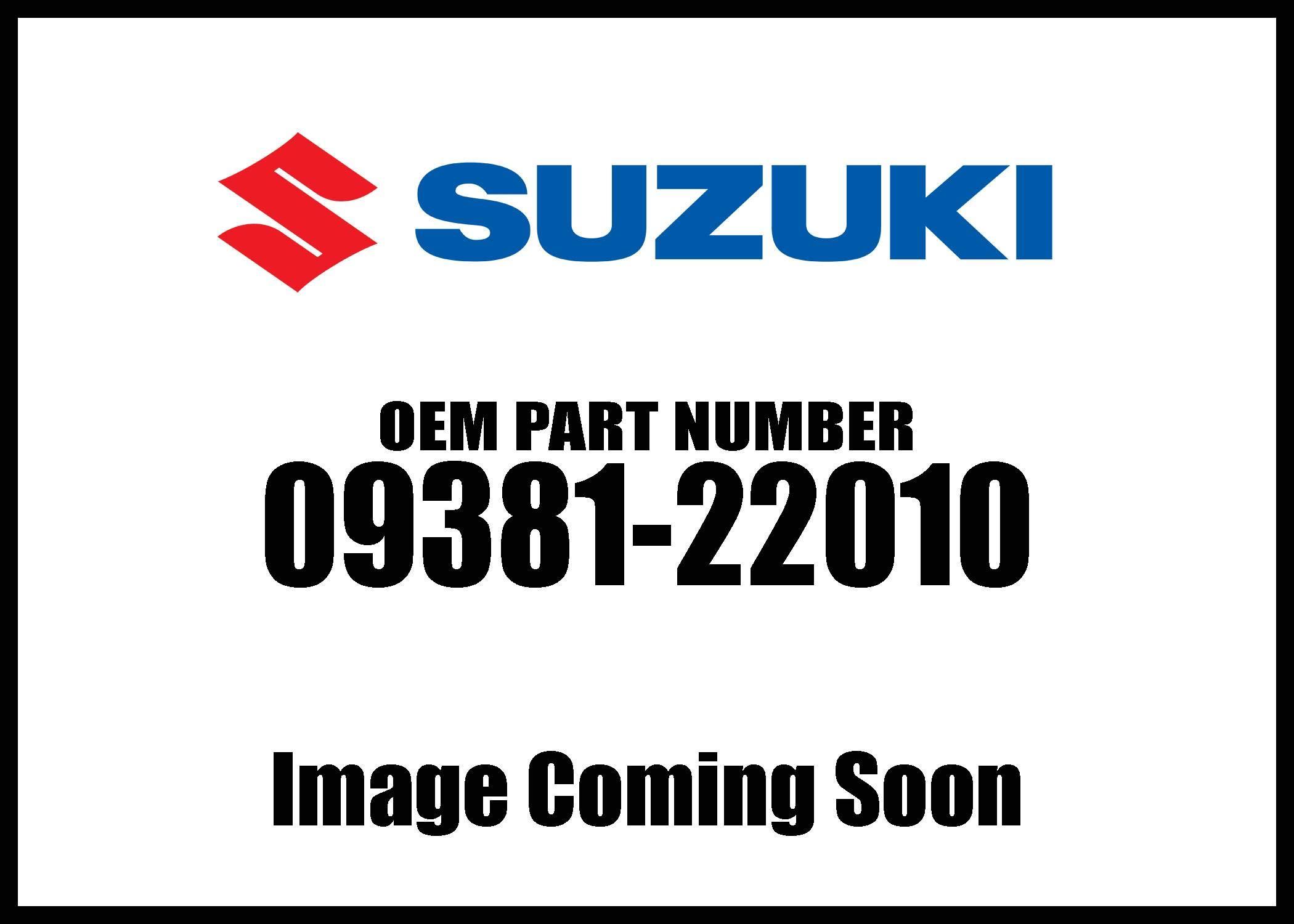 Suzuki Circlip Piston 09381-22010 New Oem