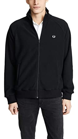 6792255e5 Amazon.com: Fred Perry Men's Fleece Track Jacket: Clothing