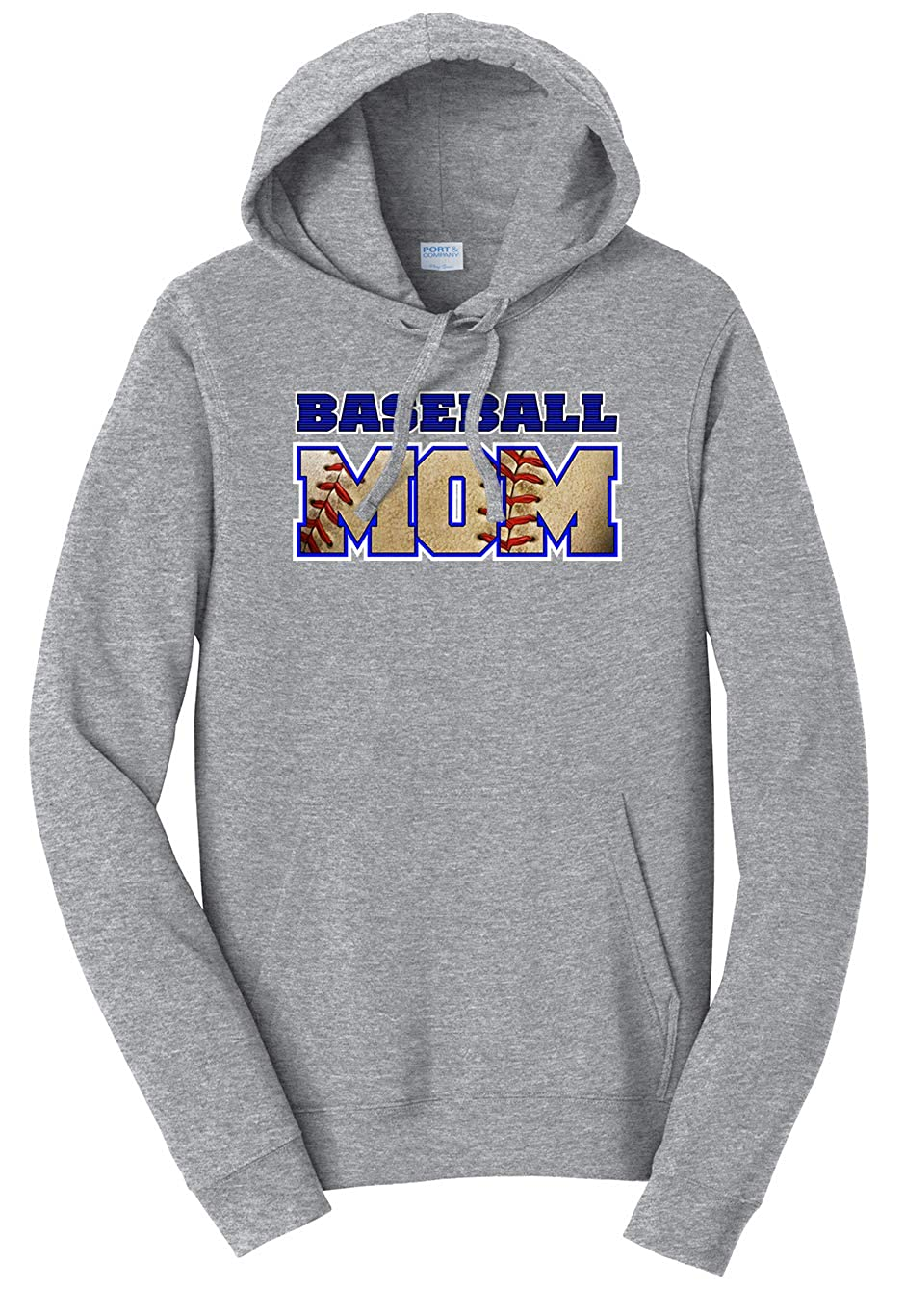 Tenacitee Unisex Baseball Mom Ball Cutout Sweatshirt