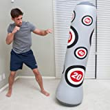 BESTWAY NEW INFLATABLE PUNCH TOWER BAG / BOXING BAG ADULT TRAINING WITH WATER BASE 160CM -GIFT IDEA
