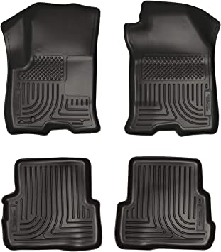 Husky Liners Fits 2016-18 Ford Focus Weatherbeater Front /& 2nd Seat Floor Mats