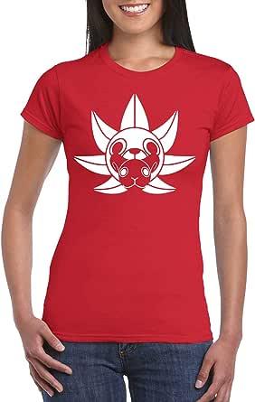 Red Female Gildan Short Sleeve T-Shirt - Tony Tony Chopper design