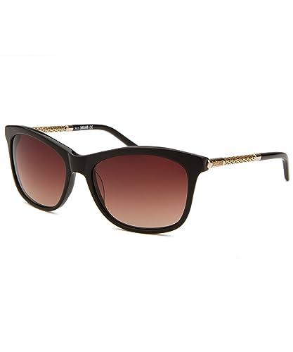 a73bbff1e5 Just Cavalli Women s JC629S Acetate Sunglasses BROWN 57  Amazon.co ...