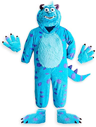 Amazon Com Disney Store Monsters University Sulley Halloween Costume Size Xs 4 Clothing