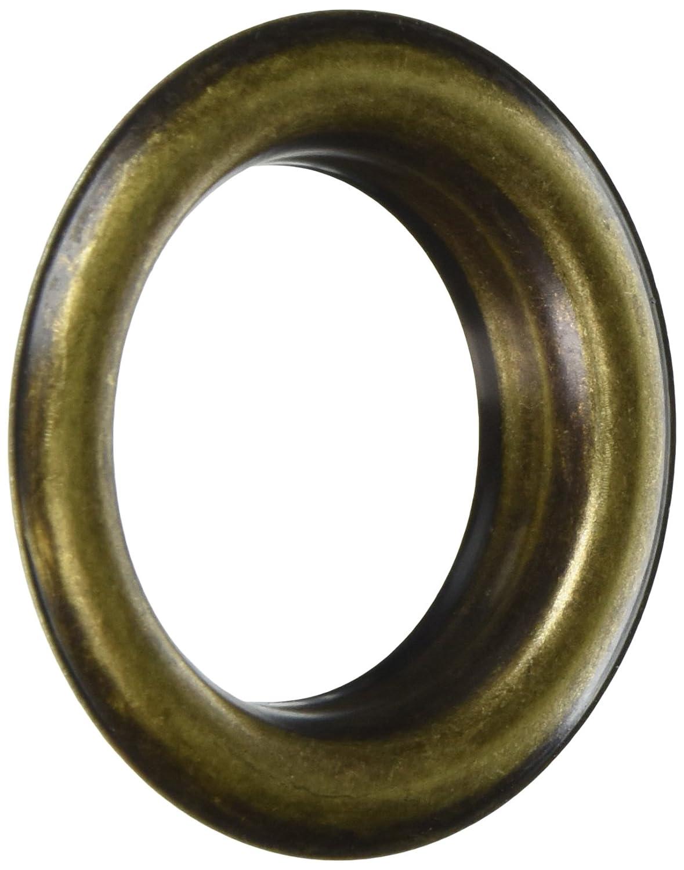 Rufflette 3023712en Acier à revêtement en métal Œillet, Vieil Or, 40mm