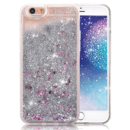 iphone 6 moving glitter case