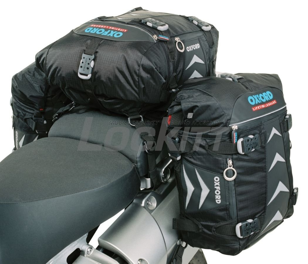 OXFORD RT30 MOTORCYCLE MOTORBIKE TAILPACK PANNIERS 30 LITRE LIFETIME LUGGAGE ol300