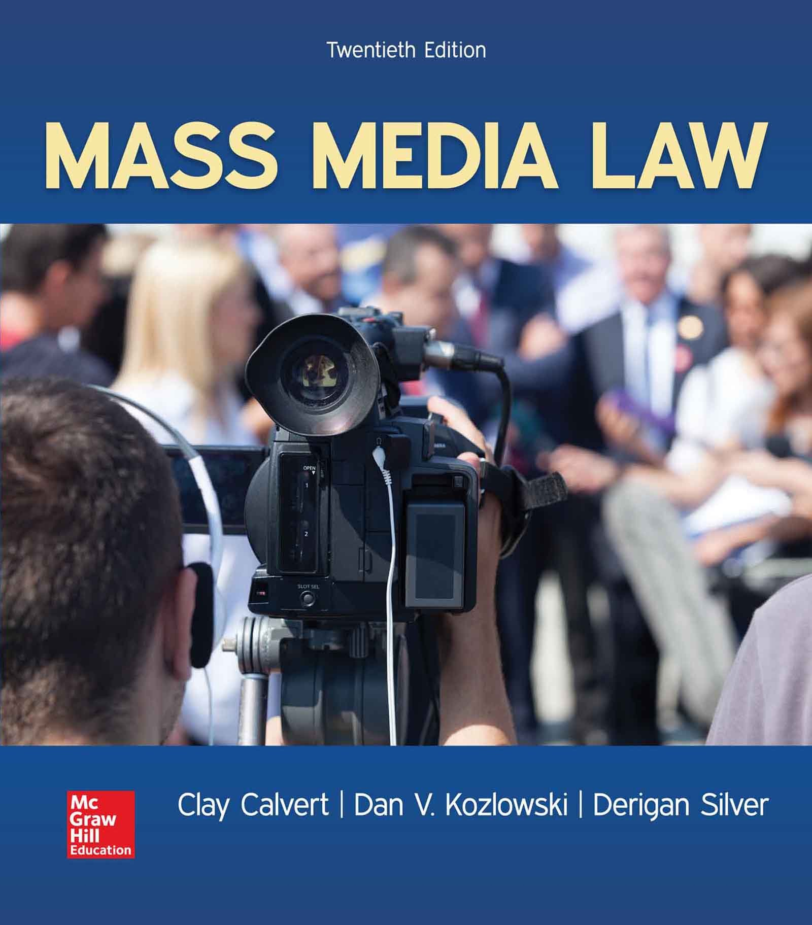 Image for Mass Media Law