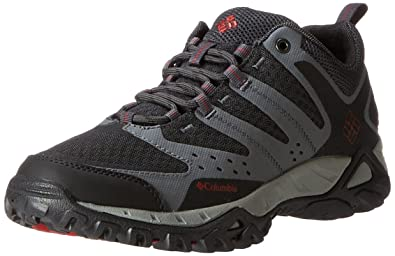 Columbia Men's Peakfreak Xcel Trail Running Shoe,Charcoal/Chili,7 ...