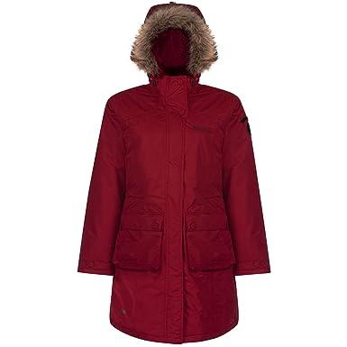 Regatta - Abrigo impermeable modelo Lumexia para mujer (36/Rojo): Amazon.es: Ropa y accesorios