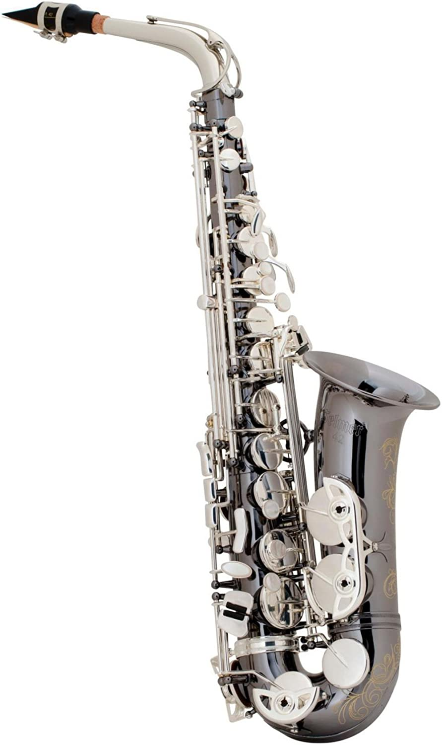 Selmer AS42 Professional Alto Saxophone Black Nickel