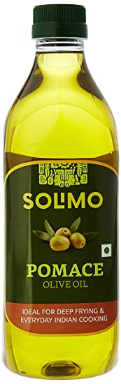 Amazon Brand - Solimo Pomace Olive Oil, 1L