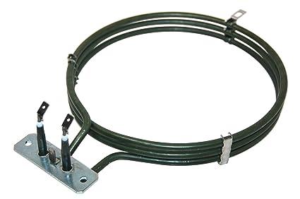 Baumatic 1170000703 - Resistencia para horno eléctrico, 2500 W, color negro