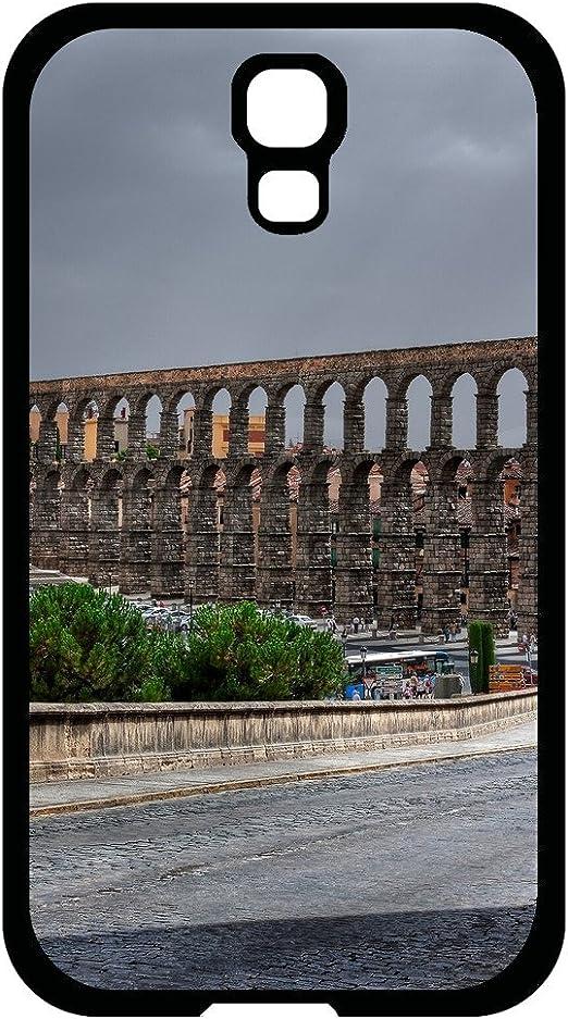 9241941ZE860842689S4 diseño de moda Samsung Galaxy S4 Segovia España acueducto romano funda NBA Galaxy caso tienda: Amazon.es: Electrónica