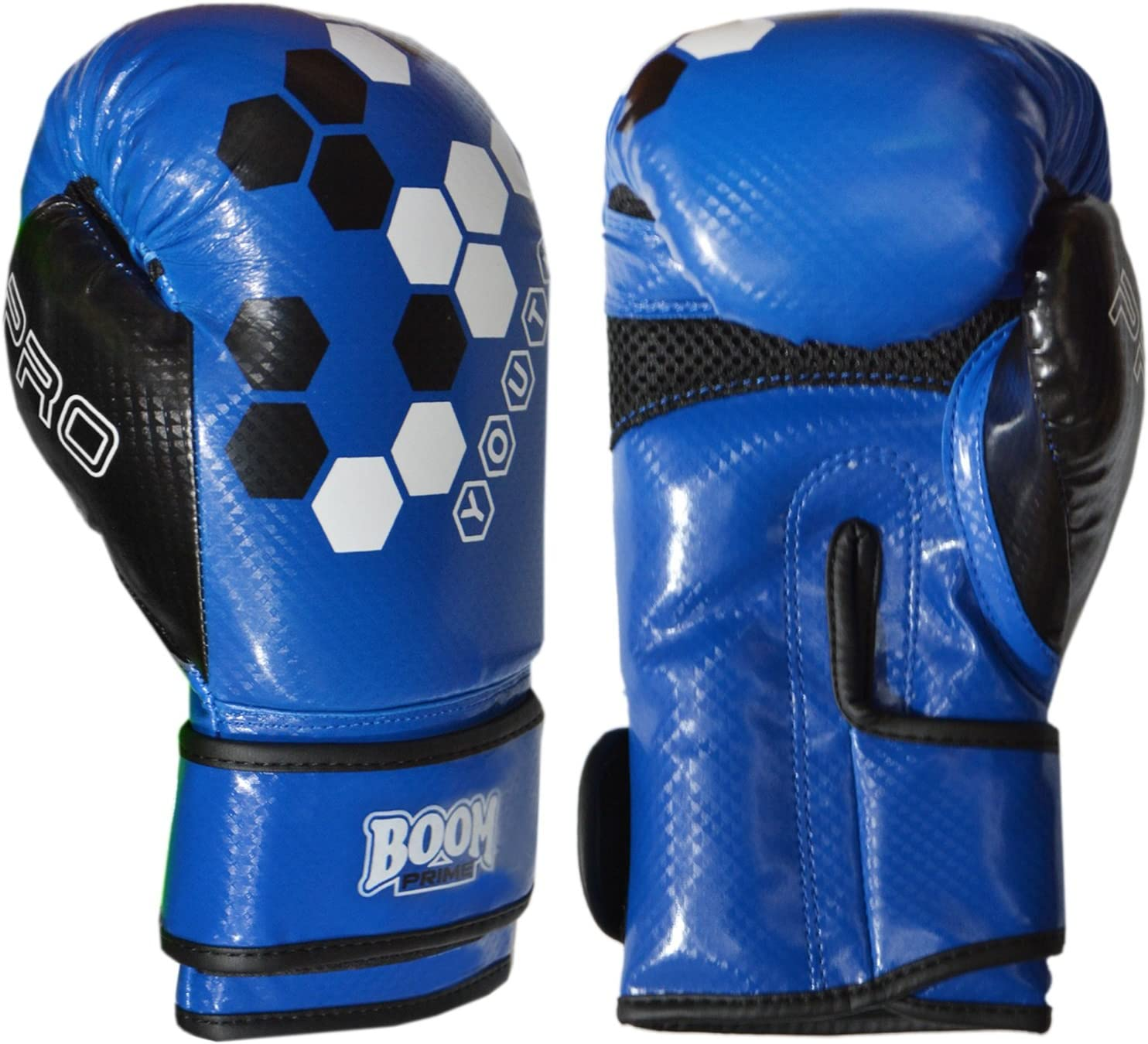 Kids Boxing Gloves Leather Junior Punch Bag MMA Mitts Muay Thai 4oz 8oz Boom Pro