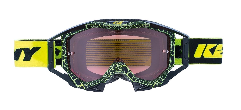 Kenny Ausrüstung Titanium Granit Brille Unisex Erwachsene, Neongelb