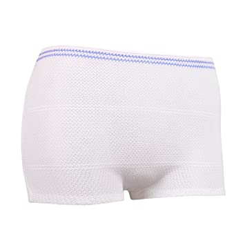 Amazon.com: Carer Disposable Fixing Mesh Pants for Maternity and ...