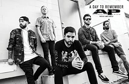 Amazon Com Xxw Artwork A Day To Remember Poster Rock Band Metalcore
