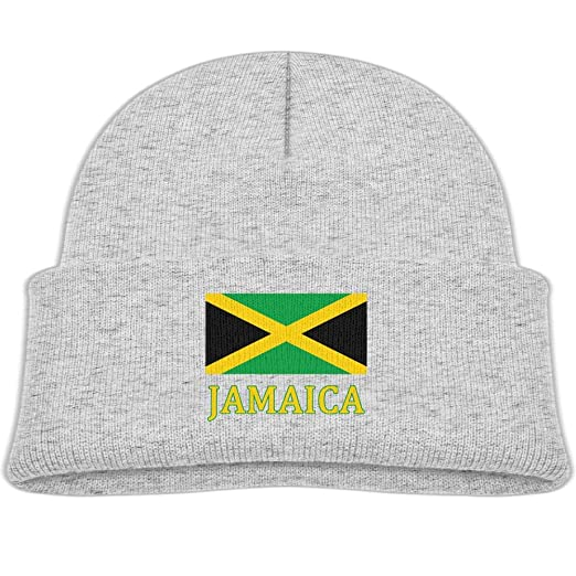 Amazon.com  EASON-G Toddler s Beanie Jamaican Flag Cuffed Knit Hat Skull Cap   Clothing c0d0d9a75e2