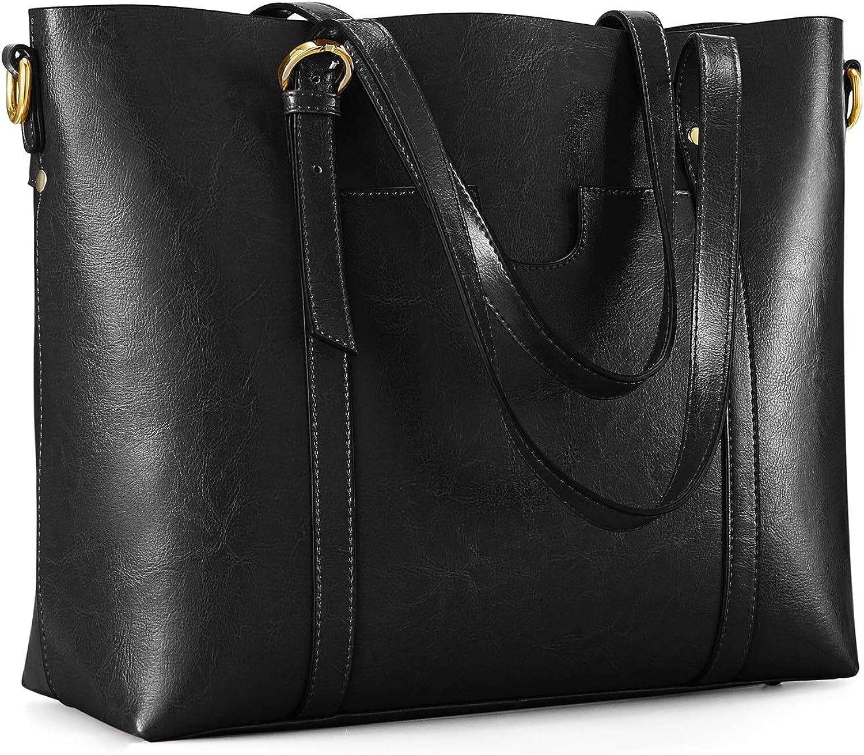 Men/'s Split Leather Travel Bag Large Capacity Soft Shoulder Handbag Organizer