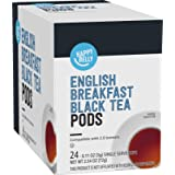 Amazon Brand - Happy Belly Tea Pods Compatible with 2.0 K-Cup Brewers, English Breakfast, 24 Count (Previously Solimo)