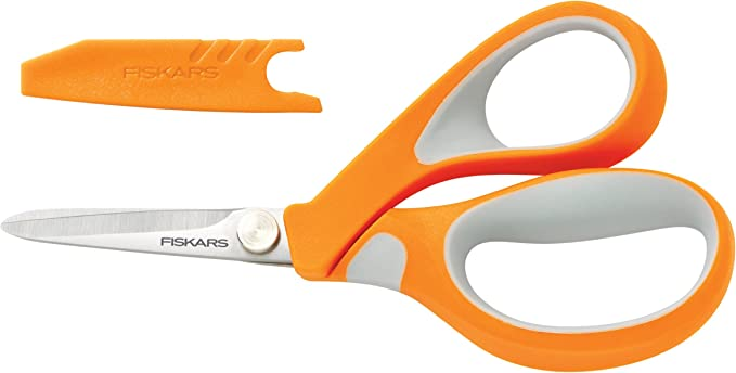 Fiskars 13cm RazorEdge Fabric Scissors Dressmaking and Craft Shears
