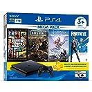 Paquete PlayStation 4 Slim 1 TB con 3 juegos , FORTNITE...