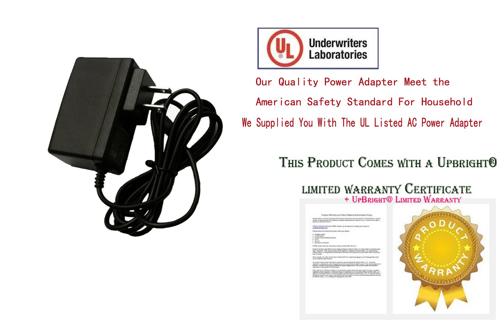 T POWER 12v Ac Dc Adapter Charger for WD Western Digital External Hard Drives Power Supply