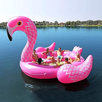 Amazon.com: YAMADIE Flotador hinchable para piscina, PVC ...