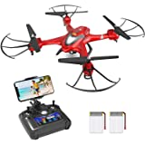 Holy Stone HS200 FPV Drone with Camera 720P HD Live Video for Adults & Kids RC Wifi Quadcopter with Voice/App Control, Altitu