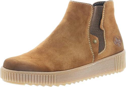 Rieker Damen Stiefeletten Y6463, Frauen Chelsea Boots