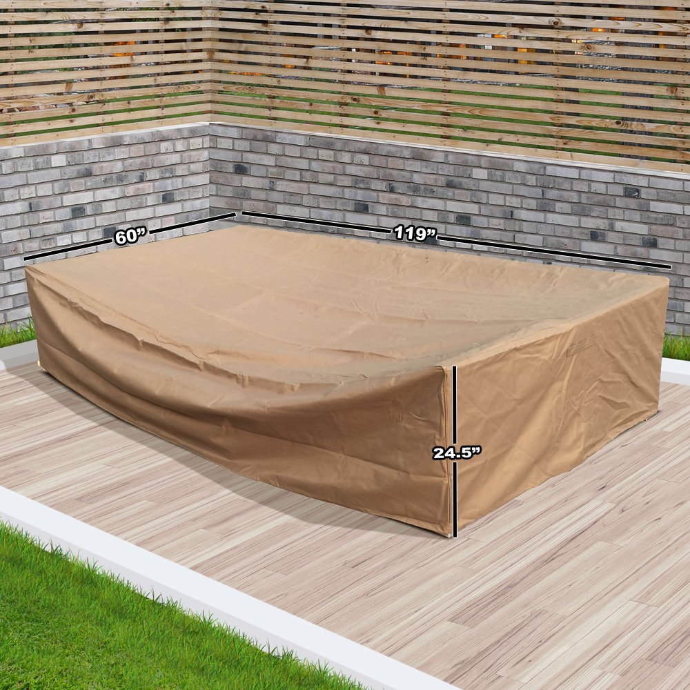 Amazon.com: modenzi all-weather Muebles Cover (119