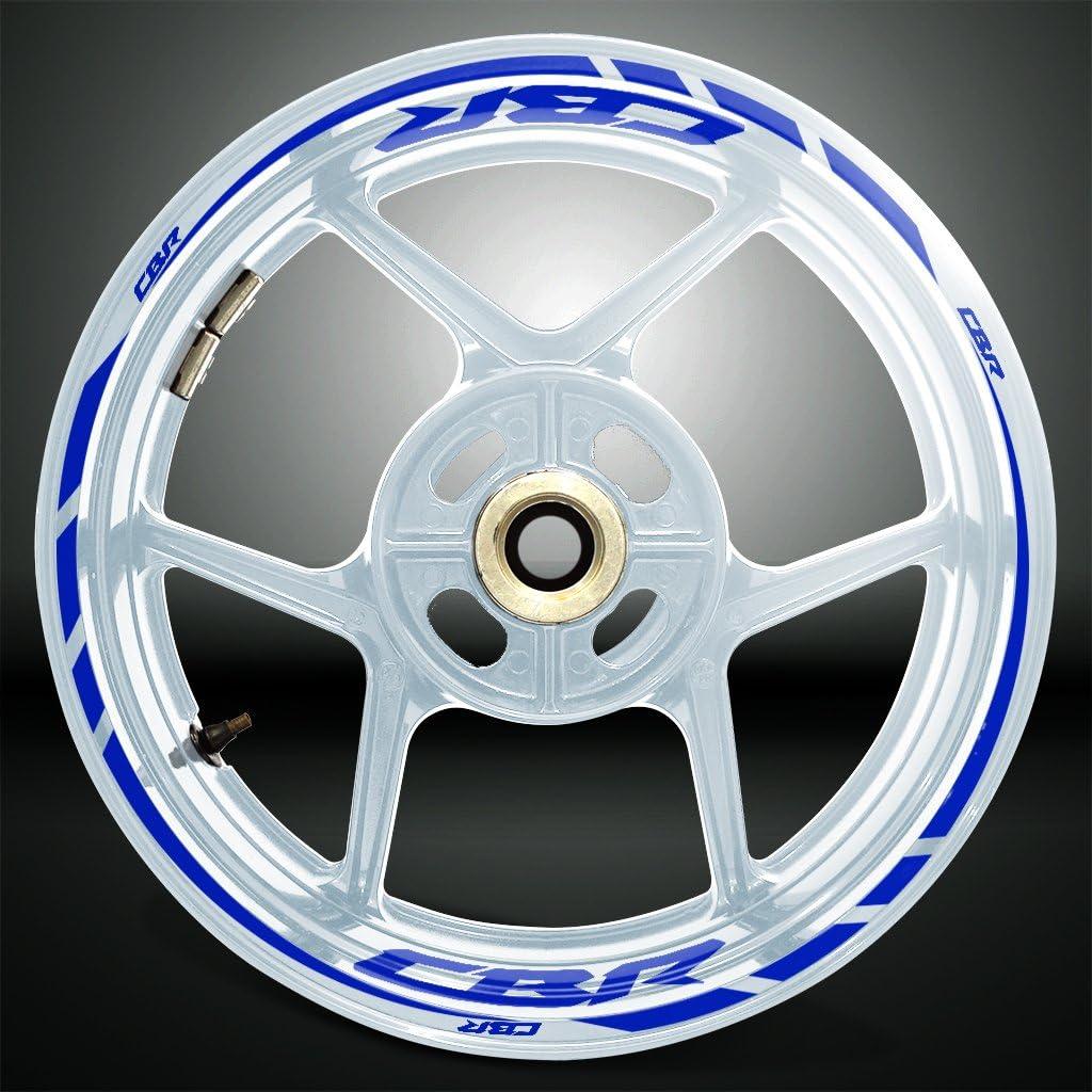 Gloss Light Green Motorcycle Rim Wheel Decal Accessory Sticker For Honda CBR