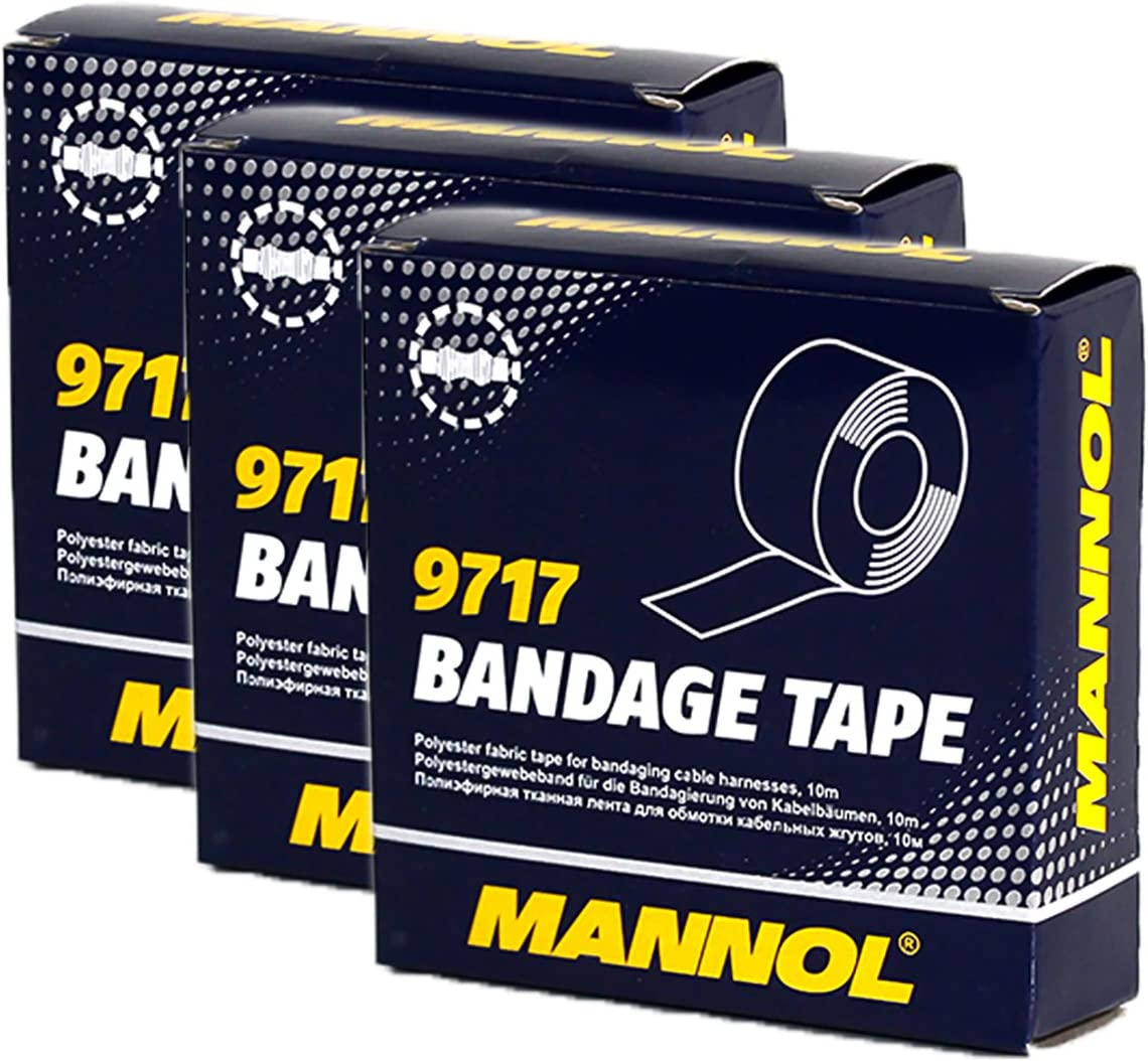 20x MANNOL 9717 Bandage Tape Joint Ruban Adhésif Ruban ISOLANT ADHESIF