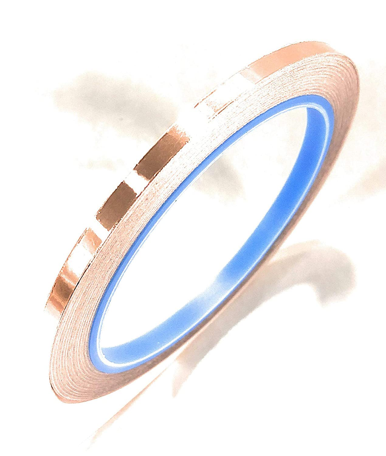 APT. Copper Foil with Conductive Acrylic Adhesive Tape, 36 Yds Length, (0.5 inch) Advanced Polymer Tape Inc