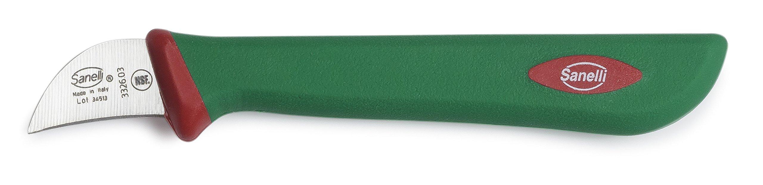 Sanelli Premana Professional Chestnuts Knife, 3cm/1.18'', Green