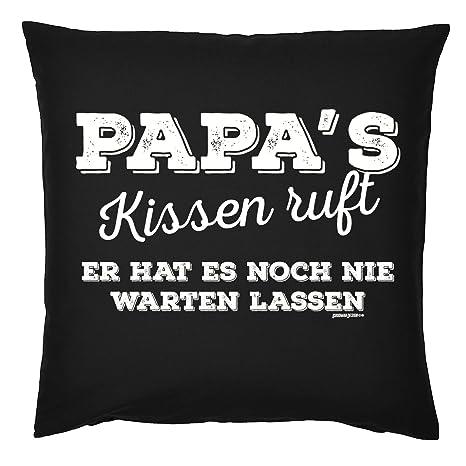 Art & Detail Shirt Cojín: Papa Dad Día del Padre Papas Cojín ...