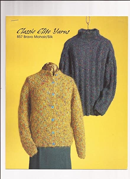 Amazon Classic Elite Yarns 857 Bravo Mohair Silk Knitting