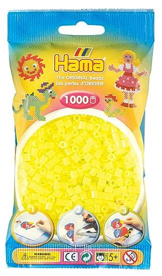 1.000 Stück Schwarz Hama Perlen