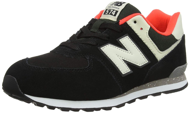 New Balance Unisex-Kinder Unisex-Kinder Balance 574v2 Sneaker Schwarz 040a0f