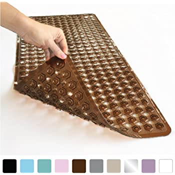 Amazon.com: NTTR Extra Long Bathtub Mats Anti-Slip Tub Mat Anti ...