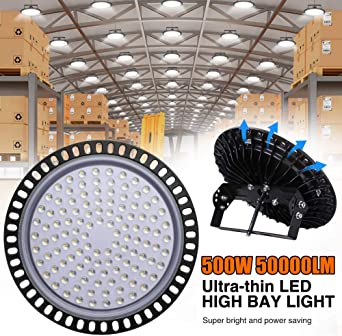 LED UFO 100W High Low Bay Commercial Warehouse HiBay Light HighBay IP65 Outdoor