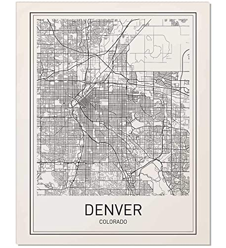 Denver Map Print, Denver Map Art, Colorado Print, City Maps, Map Print, on san diego, boulder colorado map, centennial colorado map, missoula montana map, rocky mountains, evans colorado map, salt lake city, las vegas map, lakewood colorado map, colorado state map, casper wyoming map, elizabeth colorado map, colorado springs, estes park colorado map, denver tech center, colorado rockies map, new orleans, castle rock co map, federal heights colorado map, colorado us map, loveland colorado map, sterling colorado map, san antonio, usa map, united states map, kansas city,