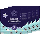 Honest Overnight Baby Diapers, Sleepy Sheep, Size 3, 120 Count