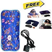PRILLY ELEGANCE ELECTRIC HOT BAG Heating Heat Pad with FREE Neck Pillow, Ear Plug, Eye Mask